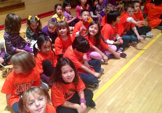 Buffalo State Pep Rally at PS33 in NYC