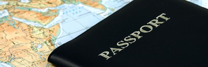 Map and passport