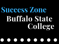 Success Zone text on black