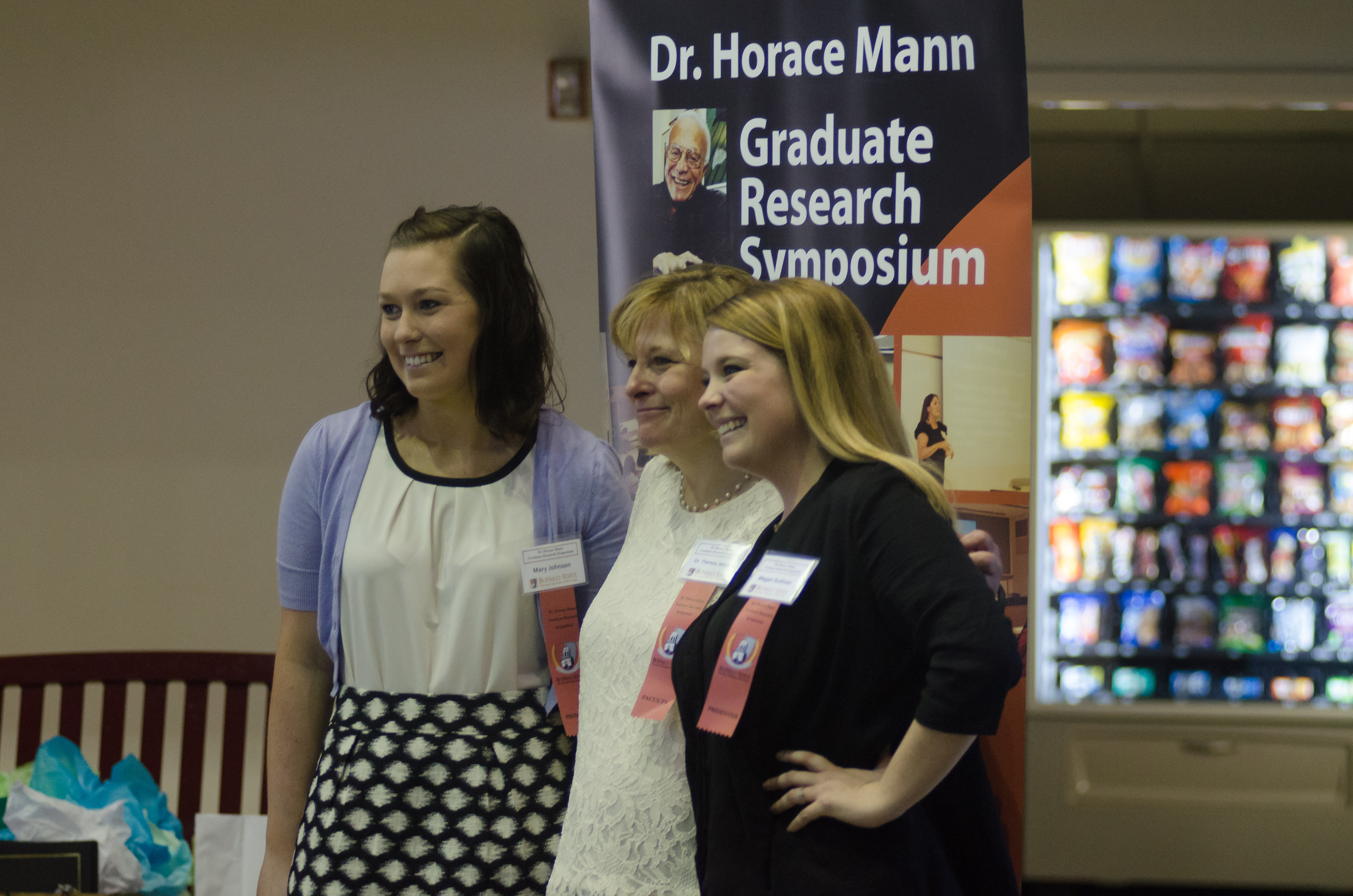 Horace Mann Graduate Research Symposium students
